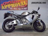 2006 Honda CBR600RR Crotch Rocket for sale with only
