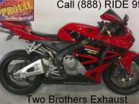 2006 made use of Honda CBR600RR sport bike for sale