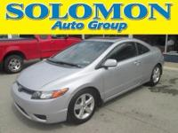 THIS 2006 HONDA CIVIC FEATURES A 1.8L I4, A/C, POWER