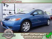 2006 Honda Civic Cpe 2dr Car LX Our Location is: Dave