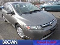 Civic Hybrid, 1.3L I4 SOHC, Black w/Cloth Seat Trim,