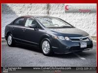 Options:  2006 Honda Civic Hybrid Blue Carfax One Owner