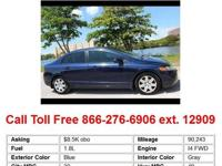 2006 Honda Civic LX 4dr Sedan Sedan 4 Doors Black FWD