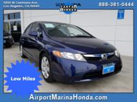 Price Just Lowered!!! Airport Marina Honda is pleased