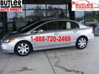 Options Included: N/AOur 2006 Honda Civic Sedan is in