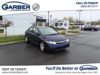 2006 Honda Civic LX! Featuring a 1.8L 4 cyls and only