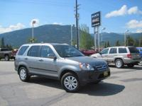 Just in on local trade. This 2006 Honda CR-V All Wheel