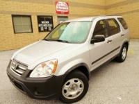 Fresh trade in. 2006 Honda CRV LX 4WD with Automatic