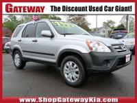 *- New Arrival -**This 2006 Honda CR-V EX 4WD Is A Rare