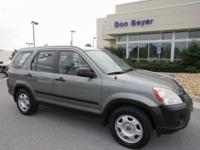 New Price! AWD. Clean CARFAX. Charcoal 2006 Honda CR-V