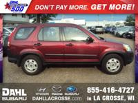 Recent Arrival! 2006 Honda CR-V LX AWD Look At The