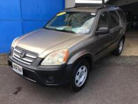 This 2006 Honda CR-V LX is proudly offered by Big