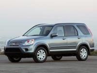 Flatirons Imports is offering this 2006 Honda CR-V SE,