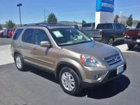 Clean CARFAX. 2006 Honda CR-V SE AWD 5-Speed Automatic
