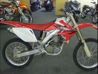 2006 Honda CRF250R Great bike runs strong With an