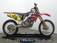 Honda CRF250R (No Speedometer). This is a nice off-Road