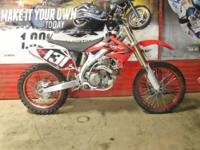 2006 Honda CRF450R is in great shape and runs out good.