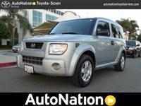 2006 Honda Element LX 4X4. Prepared for the snow at