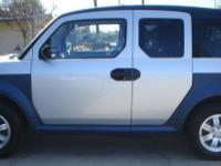 For Sale: 2006 Honda Element EX; Gray/Blue Interior