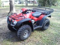 Looking to sell my 2006 Honda Foreman 500 4x4. I am the