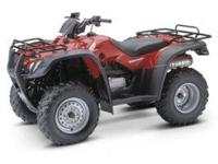 This 2006 Honda 4x4 Fourtrax Rancher 350 TRX350FM is a