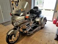 You are looking at a 2006 GL-1800 Honda Goldwing with a
