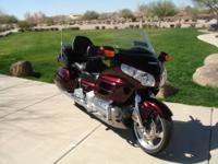 *** Beautiful Black Cherry 2006 GL1800 Honda Gold Wing