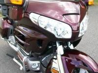 2006 Honda Goldwing 1800 in great condition has ALWAYS