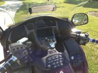 This is a 2006 GL1800 Goldwing (Audio/Comfort/Nav