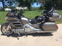 This bike just has 69501 miles on it. This Goldwing is