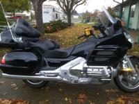 A 2006 Honda Goldwing in excellant condition! Boasting