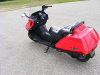 2006 Honda Helix with electric start great scooter to