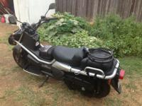 2006 Gray and Black Honda Big Ruckus motorcycle.This
