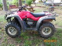 For sale is a 2006 Honda Rancher 350 4x4 manual shift