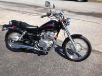 2006 Honda Rebel Black, CMX250cc, 524 miles, brand new