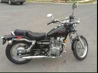 This 2006 Honda Rebel 250 looks and runs great. You'd