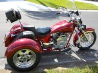 2006 Honda Rebel 250cc motorcycle. Great starter bike.