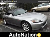 2006 Honda S2000 Our Location is: AutoNation Honda