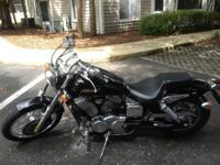I am selling my 2006 Honda Shadow Spirit with 6400