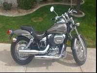 I have here a Beautiful, Reliable 750cc honda shadow.