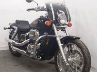 2006 Honda Shadow Spirit VT750 with 2,300 Miles. This
