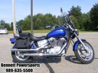 For Sale 2006 Honda Shadow VT1100, this bike has