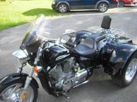 2006 Honda VTX 1300 trike for sale. Bike has 7600 miles