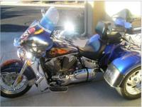 2006 Honda VTX1300 Trike. This trikes has 30k miles and