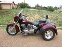 2006 Honda VTX1300R6 Trike. This Trike cycle currently