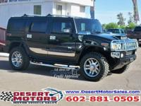 This Hummer H2 Luxury Edition was formerly an AV