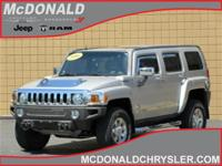 Options:  2006 Hummer H3 All-Wheel Drive|Miles: