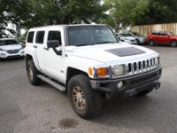 Birch White 2006 Hummer H3 Adventure 4WD 4-Speed