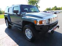 This used 2006 HUMMER H3 in Alliance, OH is luxury for