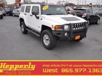 4x4, 2006 Hummer H3, Moonroof, Check Out the 10 Service